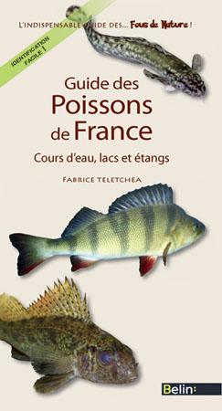 illustration Guide des poissons de France. Cours d'eau, lacs et étangs