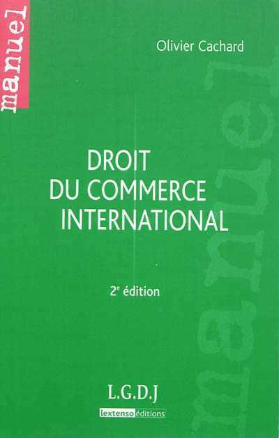illustration Droit du commerce international