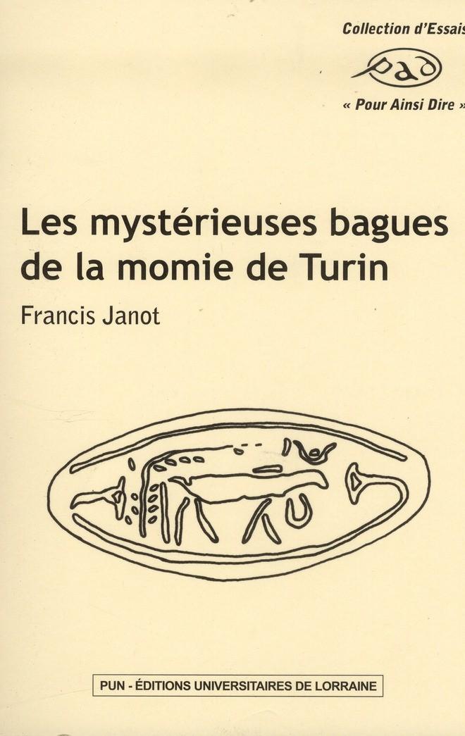 illustration Les mystérieuses bagues de la Momie de Turin