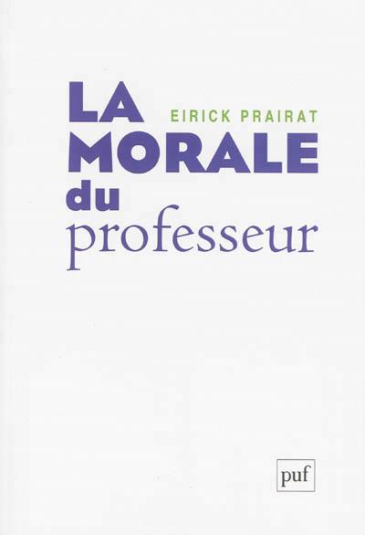 illustration La morale du professeur