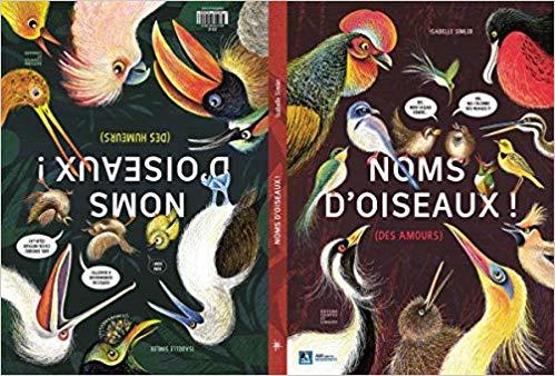 illustration Noms d'oiseaux