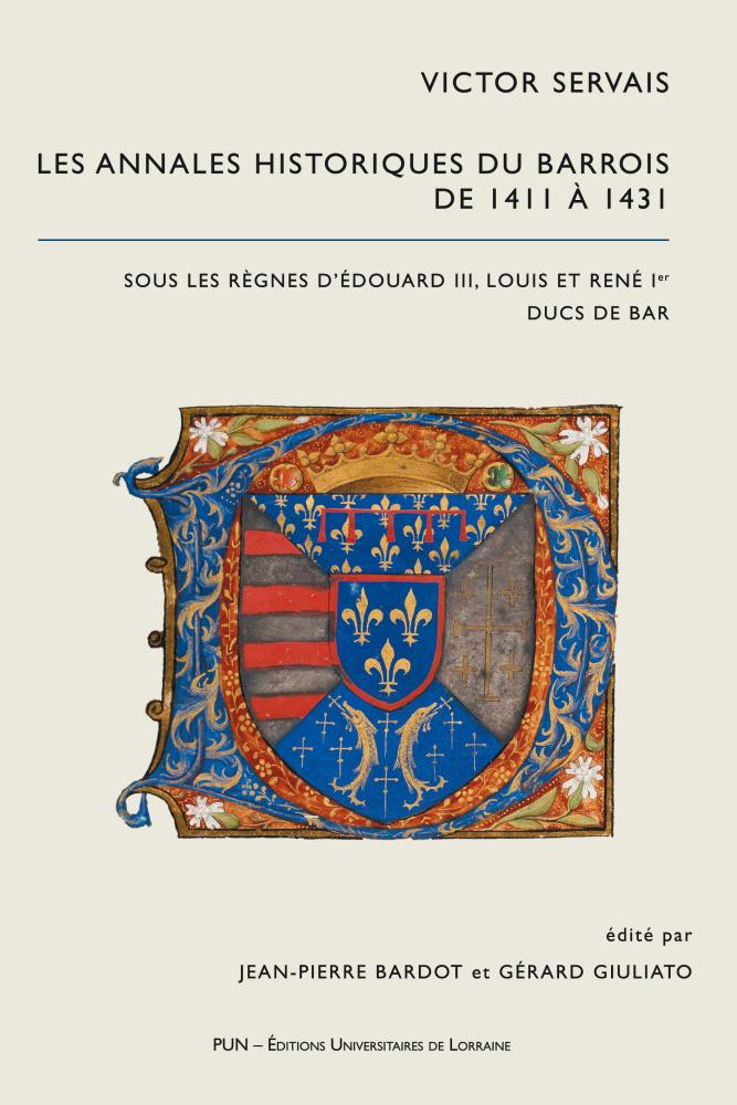 illustration Victor Servais. Les Annales Historiques du Barrois de 1411 à 1431